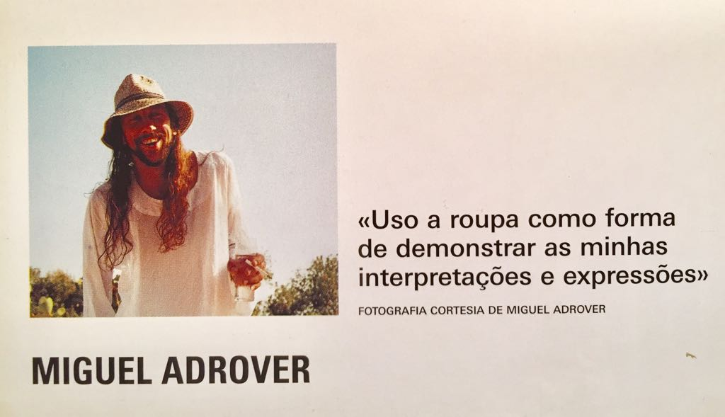 Info-Fashion No.2: Miguel Adrover