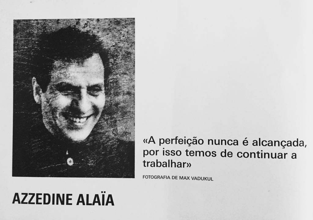 InfoFashion No. 5: Azzedine Alaia